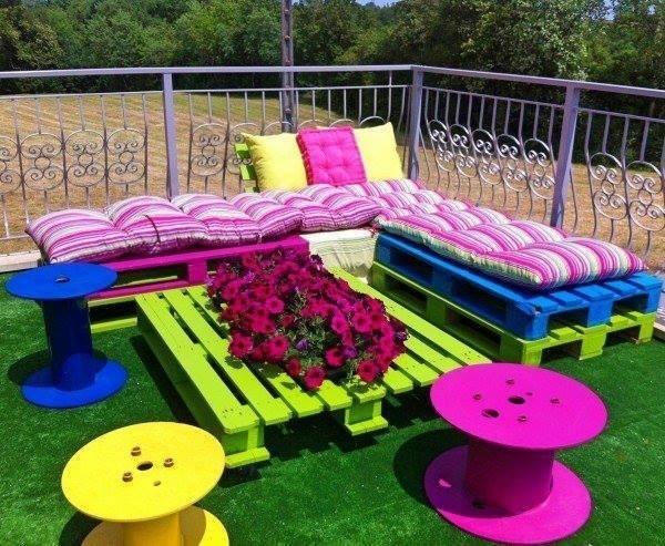 Садовая мебель своими рукам и